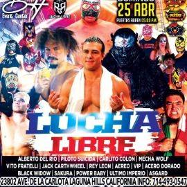 Image for Lucha Libre! Alberto del Rio, Piloto Suicida, Carlito Colon y muchos mas!