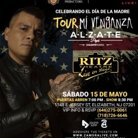 "Image for ALZATE EN NEW JERSEY ""MI VENGANZA TOUR"""
