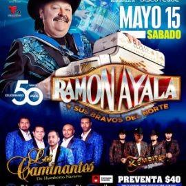 Image for Ramon Ayala y sus Bravos del Norte, Los Caminantes de Humberto Navarro y Kompita en Vivo!