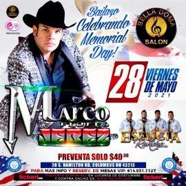 Image for Bailazo Celebrando Memorial Day con Marco Flores & la Jerez y Esencia de Rancho en Vivo!