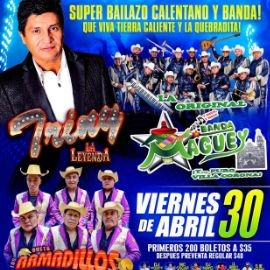 Image for Triny La Leyenda, Banda Maguey y Dueto Armadillos en Vivo!