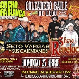 Image for Seto Vargas y Sus Calentanos y Banda Show Revelacion en Vivo!
