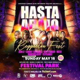 Image for Hasta Abajo Reggaeton Fest with JON Z, NESI, LENNY TAVAREZ, BRYTIAGO, MARVELBOY and more! NEW CONFIRMED DATE