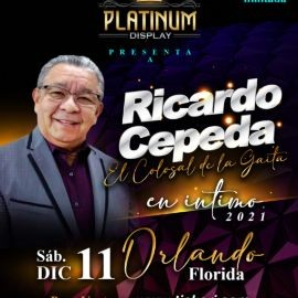 Image for Ricardo Cepeda  en Intimo - Orlando Florida/ Sábado 11 de Diciembre 2021.