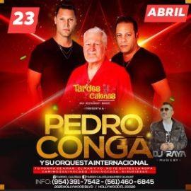 Image for PEDRO CONGA EN TARDES CALENAS HOLLYWOOD FL
