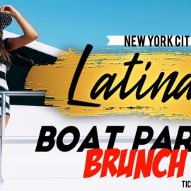 Image for LATIN BRUNCH BOAT PARTY CRUISE  NEW YORK CITY  OF STATUE OF LIBERTY SUNSET