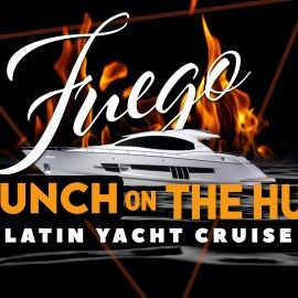 Image for #1 Official LATIN Sunset BRUNCH Party Yacht Cruise: Saturday Fiesta in NYC
