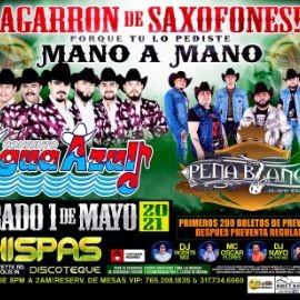 Image for Agarron de Saxofones con Conjunto Agua Azul y Peña Blanca en Vivo!