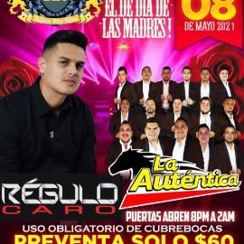 Image for Regulo Caro y La Autentica en Vivo!