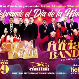 Image for Sonora Dinamita de Colombia y La Furia Band de El Salvador en Vivo!