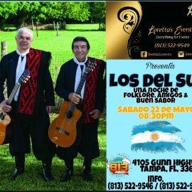 Image for Desde la Argentina llegan Los Del Sur en Concierto!