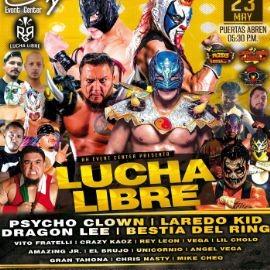 Image for Lucha Libre con Psycho Clown, Laredo Kid, Dragon Lee, Bestia del Ring y Muchos Mas!