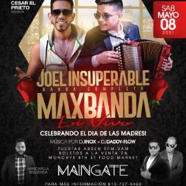 Image for MAXBANDA & JOEL INSUPERABLE