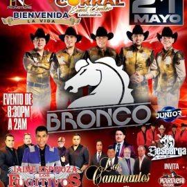 Image for Bronco, Jaime Espinoza & Los Fugitivos, Descarga de Nuevo Leon y Los Caminantes en Vivo!