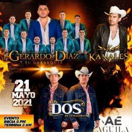 Image for Gerardo Diaz y su Gerarquia, Kanales y Los Dos de Tamaulipas