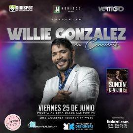 Image for WILLIE GONZALEZ EN CONCIERTO