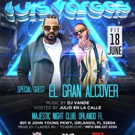 Image for Special Father's Day Weekend Concert with Luis Vargas, and special guest, El Gran Alcover, With music by DJ Vande.