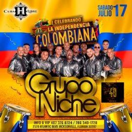 Image for GRUPO NICHE VIP CELEBRANDO LA INDEPENDENCIA DE COLOMBIA