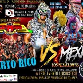 Image for Rumbo a la Primer Nezamania: Puerto Rico vs Mexico Lucha Libre!