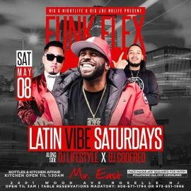 Image for Latin Vibe Fridays Funkflex Live At Mister East