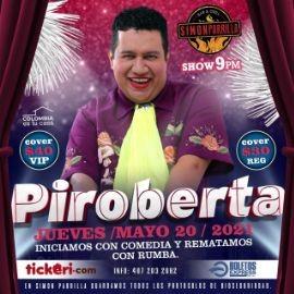 Image for Desde Colombia Comedia y Rumba con Piroberta en Vivo!