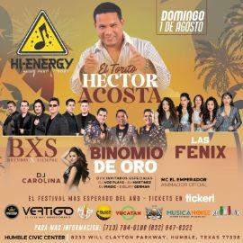 Image for Hi Energy Music Fest con Hector Acosta, BXS Bryndis por Siempre, Binomio de Oro, Dj Carolina, Las Fenix y mas!