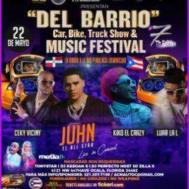 """Image for """"DEL BARRIO # 7"""" Car, Bike & Audio SHOW And FESTIVAL con Juhn, Luar La L/ KIKO EL CRAZY/ Ceky viciny/ Más Artistas por Confirmar"""