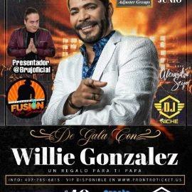 Image for De Gala Con Willie Gonzalez en Concierto!