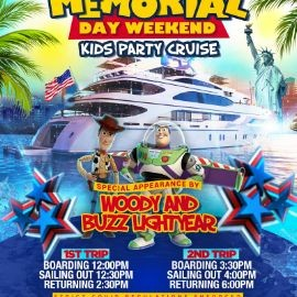 Image for Memorial Day Weekend Kids Party Cruise (12pm-2:30pm)