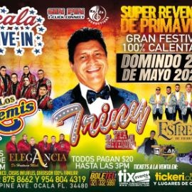 Image for Triny La Leyenda, Los Remis, Estrellas de Tierra Caliente, Elegancia de Huetamo y muchos mas en Vivo!