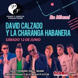 Image for Miami llega David Calzado y su Charanga Habanera Unico Concierto