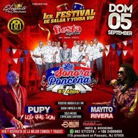 Image for 1er Festival de Salsa y Timba VIP con: La Sonora Ponceña, Pupy y Los Que Son, Mayito Rivera y mas!