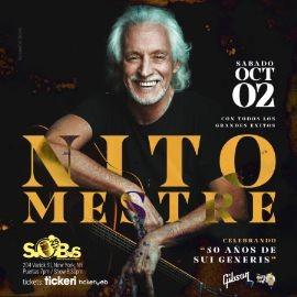 Image for Nito Mestre en New York (La Voz de Sui Generis)          New Date // 2 de Oct 2021