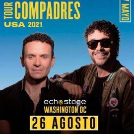Image for Tour Compadres USA 2021: Fonseca y Andres Cepeda en Concierto!
