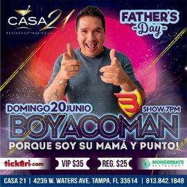 """Image for Celebra el Dia del Padre con Boyacoman """"Porque Soy Su Mama y Punto"""" en Vivo!"""