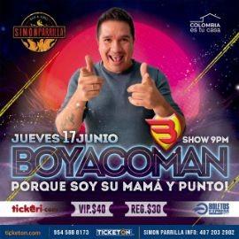 """Image for Comedia desde Colombia con Boyacoman """"Porque Soy Su Mama y Punto"""" en Orlando!"""