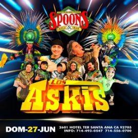 Image for Los Askis en Concierto en Spoons Grill & Bar!