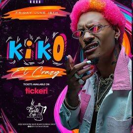 Image for Kiko El Crazy en Vivo en El Tiesto Cafe!