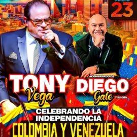 Image for TONY VEGA Celebrando la Independencia de COLOMBIA y VENEZUELA