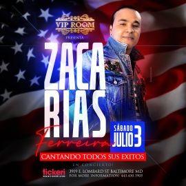 Image for Zacarias Ferreira en Vivo en VIP Room!