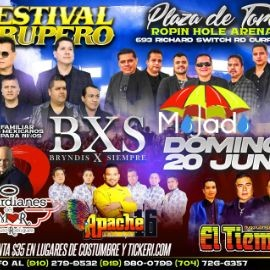 Image for Festival Grupero con BXS, Mojado, Guardianes del Amor, Apache 16 y Hugo Gomez y El Tiempo en Vivo!