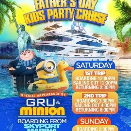 Image for Father's Day Kids Party Cruise (2:30pm-5:00pm)