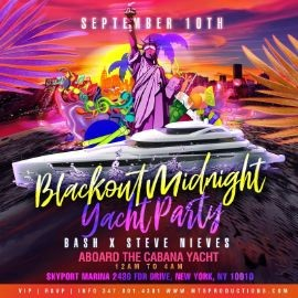 Image for Blackout Midnight Yacht Party At Skyport Marina