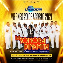 Image for LA SONORA DINAMITA en LA BOOM!!