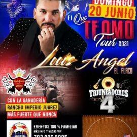 Image for Super Jaripeo con Luis Angel El Flaco en Vivo!