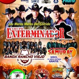 Image for Grupo Exterminador, Banda Rancho Viejo de Julio Aramburo y Samuray en Vivo!