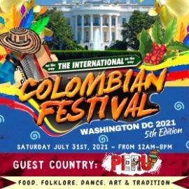 Image for The International Colombian Festival Washington DC 2021