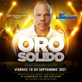 Image for ORO SOLIDO en LA BOOM!!!
