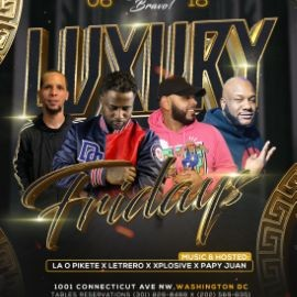 Image for Luxury Fridays at Bravo Bravo Night club 21+ free until 12am