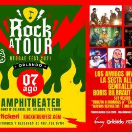 Image for Rockatour Reggae Fest 2021 con Los Amigos Invisibles, La Secta All Star, Genitallica, Boris Bilbraut y Los Arboles y mas!